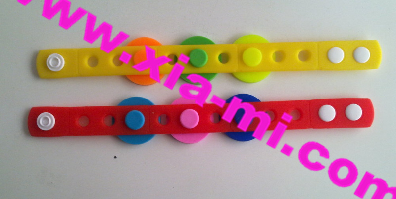 Princess Silicone Shoes Charm Bracelet